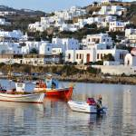 """Mykonos Seaside"" by conwayphotography"