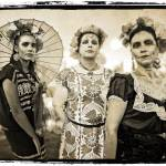 """""""Three Women Of Oaxaca - Dia de los Muertos"""" by kenlee"""
