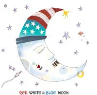 Red, White & Blue Moon