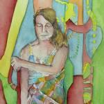 """Here I Am, Self Portrait"" by idillard"
