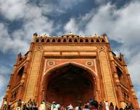 Entrance to Fatepur Sikri