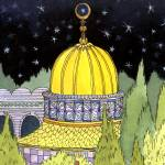 """Golden Mosque"" by wingedrabbit"