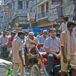 """Old Delhi traffic jam"" by ChristopherByrd"
