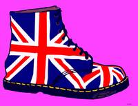Pop Art Union Jack Doc