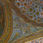 """Decorative ceiling fresco - Akbar"