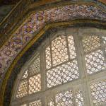 """Decorative window lattice and alcove - Akbar maus."" by ChristopherByrd"