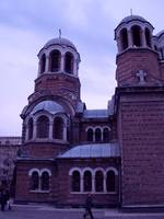Christian church in Sofia, Bulgaria