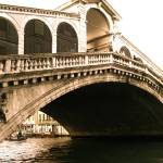 """Venice-- Rialto Bridge"" by la_poetessa"