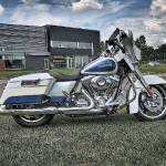 """White Harley"" by RayPayette"