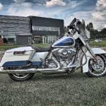 """White Harley"" by RayPayette"