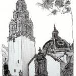 """Balboa Park California Tower Museum By Riccoboni"" by RDRiccoboni"