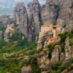 """Meteora Monasteries"" by paulwnashphotography"