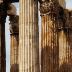 """Athens Pillars"" by paulwnashphotography"