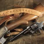 """Pistol, Rifle, Holster, Belt"" by RHudsonPhotographicImages"