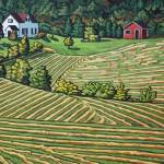 """Fields of Cape Breton"" by wolodko"
