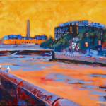 """Frank Sherwin Bridge, Dublin"" by irishkc"