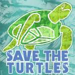 """Save the Turtles"" by maryostudio"