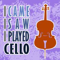 I Came I Saw I Played Cello