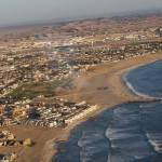 """swakopmund from air"" by mjtseng"