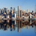 """Reflections of New York City"" by Donald_R_Swartz"