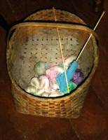 Old Basket, New Yarn