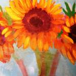 """Sunflowers 1"" by leyla"