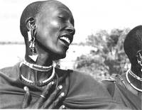 Masai woman, Serengeti