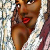 Angel Art Prints & Posters by Robina Kaira