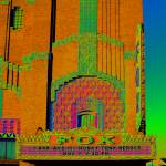 """Under The Rainbow: Fox Theatre - Hutchinson, KS"" by Freeman_Photographic"