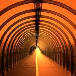 """Tunnel in Glasgow..."" by Semi-detached"