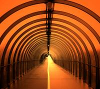 Tunnel in Glasgow...