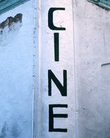 Cinema Painted Sign