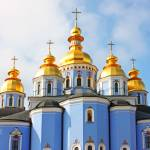 """St Michael cathedral in Kiev"" by a1luha"