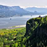 """Crown Point overlook at Columbia River Gorge, OR"" by JohnChaoPhoto"