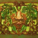 """greenman"" by shelleybain"