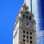 """Chicago Clock Tower"" by Ffooter"