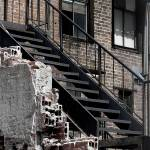"""""""Stairway with rubble"""" by sashapixlee"""