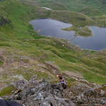 """lake below crib goch"" by scottphotography"