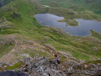 lake below crib goch