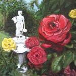"""""""Rose and Statue"""" by SeiterArt"""