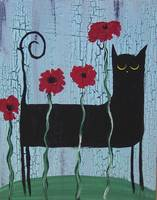 Black Cat Poppies