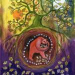 """Acorn Gathering"" by FaithNolton"