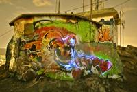 Light and Spraypaint