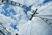 The London Eye- Up!