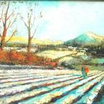 """Winter sunshine on Gartocharn"" by brendanberry"