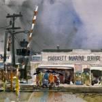 """Study for Crockett Marine"" by WilliamDunn"