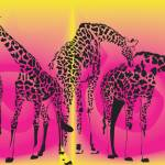 """LA Zoo Girafffes"" by magicalview"