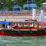 """Embossed & Alive - river water taxi"" by mAsTeRpIeCe"