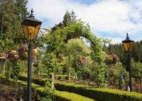Butchart Gardens Archway