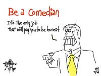 Be A Comedian